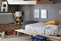 kid bedroom inspiration / by Sara Giguere