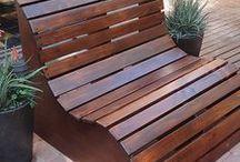 banco de jardim paletes