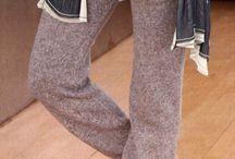 вязание - брюки