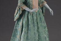 XVIII. century clothes