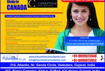 Computer Application, Conestoga College, Canada / Apply for Computer Application development, Conestoga College, Canada. Intake Sept 2015 See more Information http:www.futurelinkconsultants.com