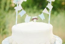 Cake Topper Ideas / All the cake topper ideas you could ever need in one place! Tutorials, how to's, diy tips, and more! Dress up any cake with darling cake topper bunting flags, banners, garlands, candy and more! All via Kara's Party Ideas KarasPartyIdeas.com