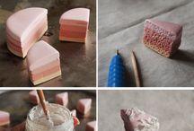 fimo, ceramics..