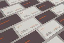 bcard design / by Hazel Lebiga