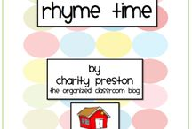 Rhyme / by Virginia Brotherson