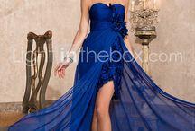lacivert-mavi elbiseler