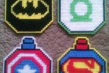 Plastic Canvas-Super Heroes / by Michelle Haigh