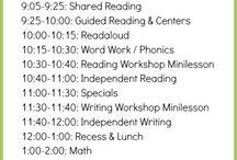 blocked schedule ideas