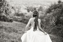Fairytale Wedding Inspiration / Fairytale/Bohemian Wedding Inspiration shoot by Melanie Zacek Photography. New England Wedding Photography