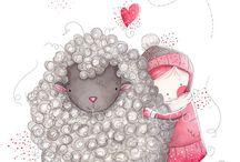 Cute Illustrations // Caricias al alma y al corazón (Hermosas imágenes e ilustraciones)