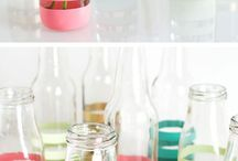 Bottles, Candles, Jars,