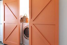 Laundry rooms/family closets