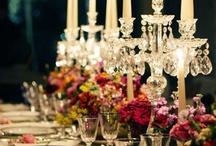 WEDDING RECEPTION - DECORAÇÃO DA RECEPÇÃO / Inspire-se com essas lindas decorações e detalhes de recepções de casamento