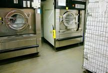 Commercial Laundry Room / Laundry rooms are needed in a variety of facilities. To ensure safety and sanitation, Florock offers floor coatings to protect laundry room floors and more.