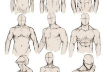 Male body concept reference
