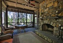 Outdoor Living at Lake Keowee / Check out these amazing outdoor living areas available at The Reserve at Lake Keowee!