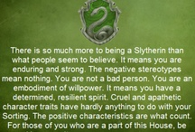 house pride / ravenclaw, slytherin & horned serpent