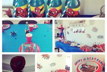 Maria / Spiderman party