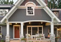 Home exterior / by Whitney Topham