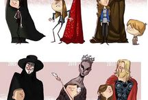 Character Design / Character Design References (디자인)