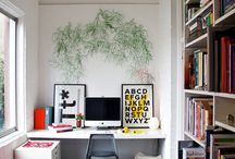 Dream office / Inspiration for my studio revamp... and for future upgrades / by Barbara | fatamadrina
