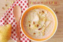 Papas de Millet & Pêra / Estas Papas de Millet & Pêra são deliciosas, muito saciantes, reconfortantes e nutritivas. Ideais para ajudar o corpo a receber o Outono...Vegan, sem glúten, sem açúcar, sem gordura adicionada.