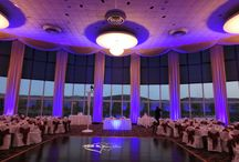 West Point Wedding / Wedding at West Point Military Academy Officers Club Lighting by HourglassLighting.com
