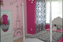 paris theme bedroom