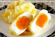 Huevos en tempura