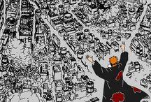 Naruto Charater Art / Naruto character art, wallpaper usable too. Itachi, the Akatsuki and any other cool naruto inspired pieces