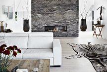 brick tile focus wall