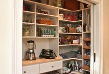 Home | Pantry / Smart kitchen storage ideas for your pantry. The best ways to organize a beautiful kitchen pantry,