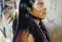Kauniita intiaaneja / Luojan luomia veistoksia