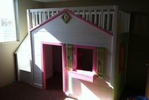 Playhouse beds / by Julie Grubbs