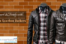 Custom Leather Jackets / Custom Leather Jackets by Astro Marketing.