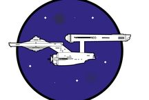 Star Trek - USS Enterprise / So this is my homage to the original and greatest space-craft ever!