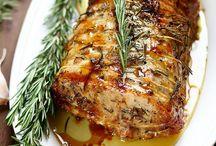 Porc / La viande de porc est facile à cuisiner et pratique car tout est bon dans le cochon. Faites le plein de recettes plus délicieuses les unes que les autres à base de porc pour vous en persuader.