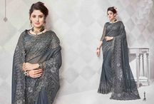 2608 Anaaira Women's Embroidery Saree With Unstitched Blouse Piece