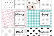 calendar journal 2018