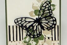 Stampin' Up! Butterfly dies