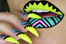 Lip Art & Nails
