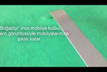 Mobilya (dolap) kulp modelleri