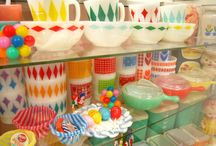pyrex / My favorite vintage dishes, happy cheery colors... I look for them everywhere!