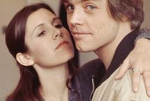 Carrie Fisher & Mark Hamill.