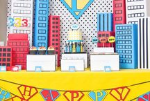 Super Hero Theme / Super Hero Ideas for the classroom or an event!