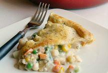 Tarts and Pies (savoury)