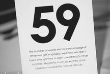 Numéro de table / by Vanessa Brinon