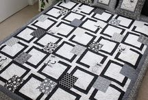 Black & White quilts