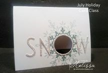 Festive Flurry Stampin' Up! Stamp Set Greeting Cards