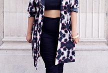 Trending: Tie-dye / Tie-dye style women's clothing, street style.